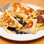 Easy Crepe Recipe: Sweet Blueberry Stuffed Crepes